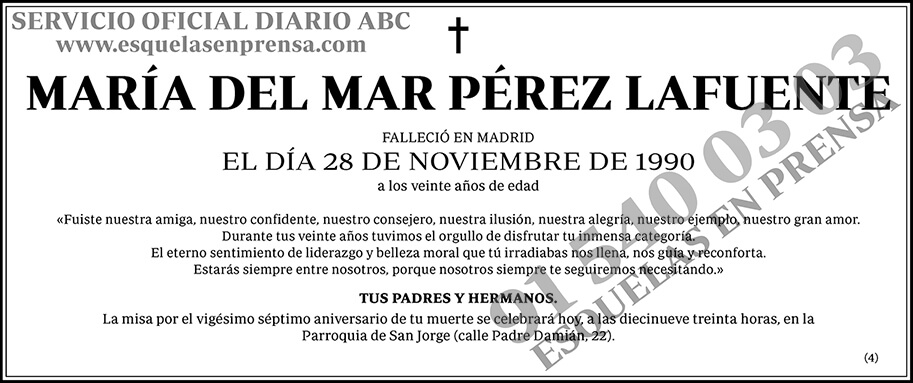 María del Mar Pérez Lafuente
